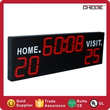 2016 newest product electronic scoreboard football sport led display
