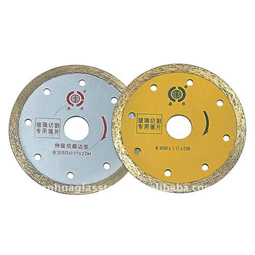 Sintering Cutting Disc Dia 100mm 20mm hole 16mm hole 1.1mm thckness for cutting sheet glass