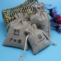 Coffee Bean Packaging Printing Pouch Burlap