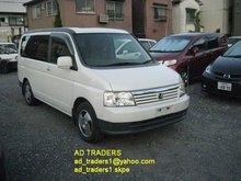 Honda Step WGN D 2001,8Seater!! Keyless Entry