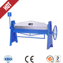 Manual steel plate hand bender machine / hand operated sheet metal folding machine for sale