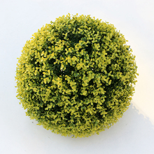 hanging artificial hedge balls for shop decoration with happy prices