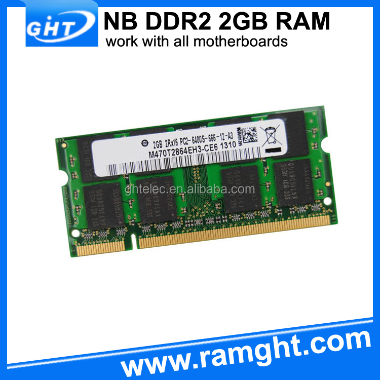 Computer parts full compatible ram memory 2 gb ddr2