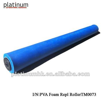 "PVA Foam Repl Roller for Tennis Court Dryer / Sponge Roller (TM0073,4"" x36"" Blue )"