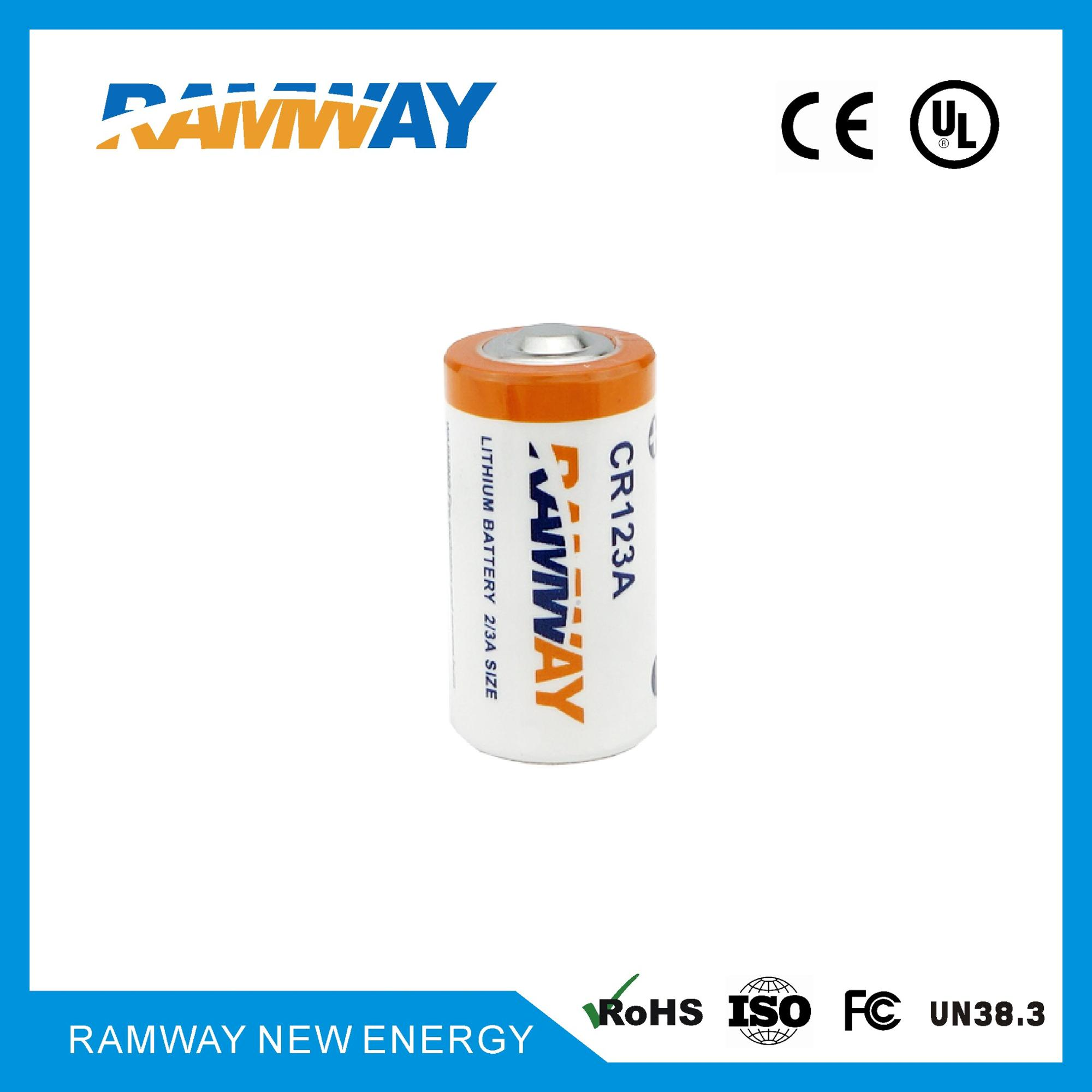 Ramway Lithium Primary Battery CR123A for Marine instrumets