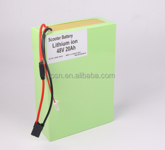 Lithium ion 48v20ah Rechargeable Battery 1000w Scooter/Ebike Batteries