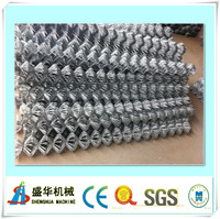 High speed Full automatic chain link fence making machine manufacturer