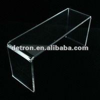 Bridge Pedestal/Acrylic Display Riser with Beveled Edges and Stylish Appearance A223