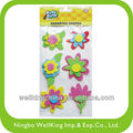 Adhesive EVA Assorted Flower Stickers