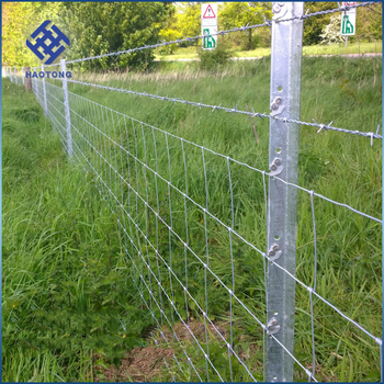 Factory Price Galvanized sheep and goat agricultural animal farm fence