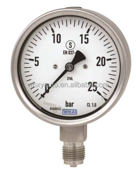 WIKA Bourdon tube pressure gauge Model 232.30