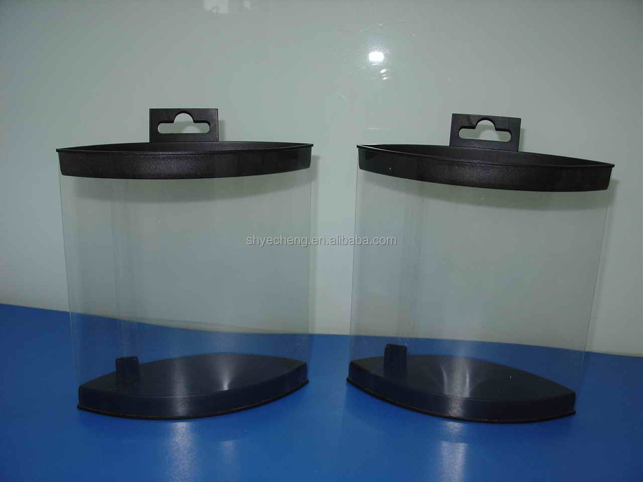 high quality manufacturer of eco friendly PVC/PP/PET clear plastic fly box