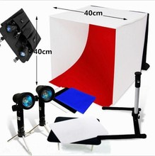 High Quality Professional light box photography Portable Photo Studio Tent Light Box Kit 40cm/50cm/60cm