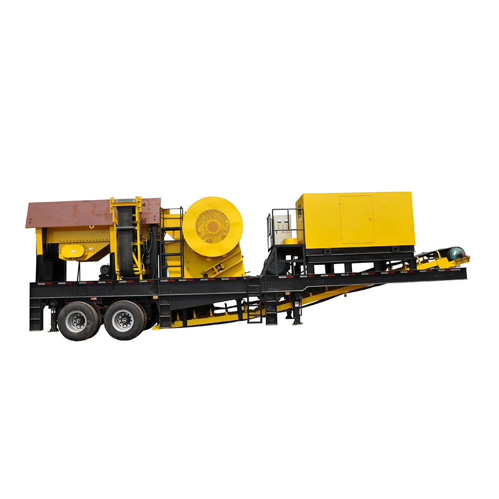 Super Durable Factory Price Mobile Concrete Crushing Machine