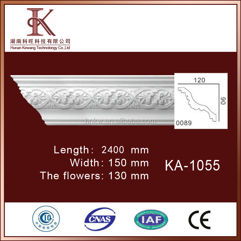Pu Cornice Moulding construction material for green buildings