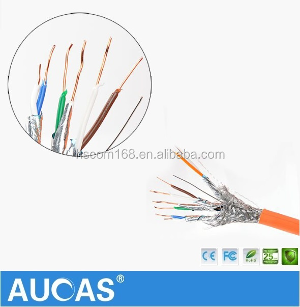 High Quality Cat7 Rj45 Network Cable Sftp Cat 7 Network Cable Price