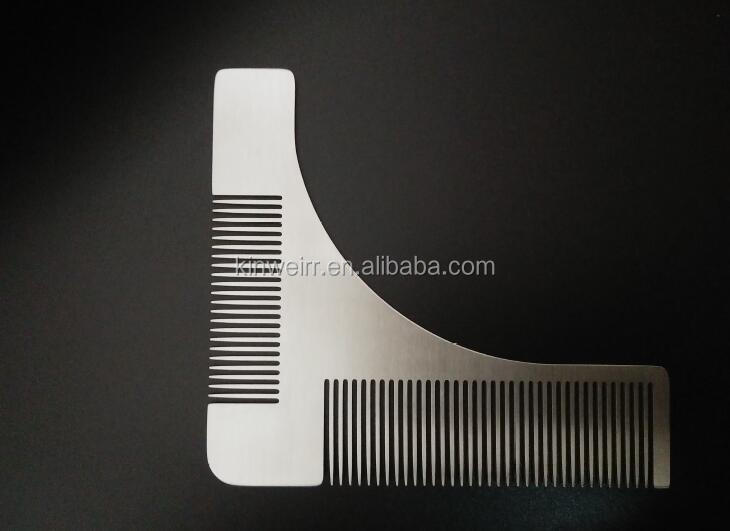 Stainless Steel Wholesale Beard Brush And Comb
