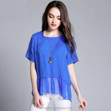 Latest casual chiffon shirt designs for women