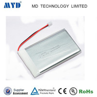 MYD Rechargeable Lithium-Ion Battery 3.7v with JST cables