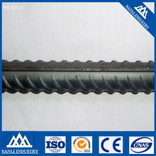 high tensile deformed steel rebars in bundles
