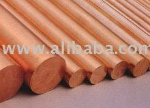 Copper Rods HIGH QUALITY POLISHED