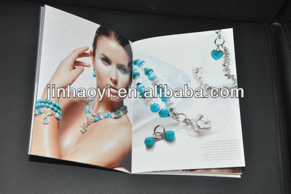 Free Fashion Premier Jewelry Catalogs Printing Factory