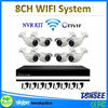 full hd decentralized ip camera system,8ch surveillance camera ce rohs car wireless reversing camera with rearview mirror