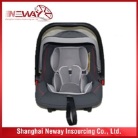 Unique style best sell safety baby car seat double