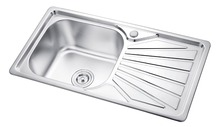 Unique Single Bowl Kitchen Sink with Drainboard