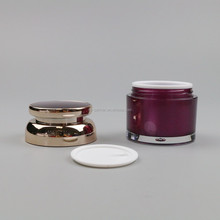 2016 Jars Acrylic Empty Container for Refillable Cosmetic Cream Makeup Tester Sample Travel