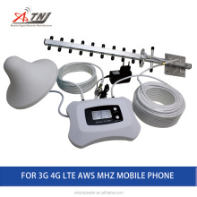 AWS 1700mhz mobile signal booster/Repeater Amplifier 3G 4G cell phone signal amplifier booster