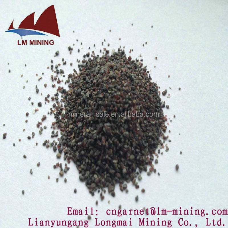 natural river garnet sand for Water Treatment/Filtration