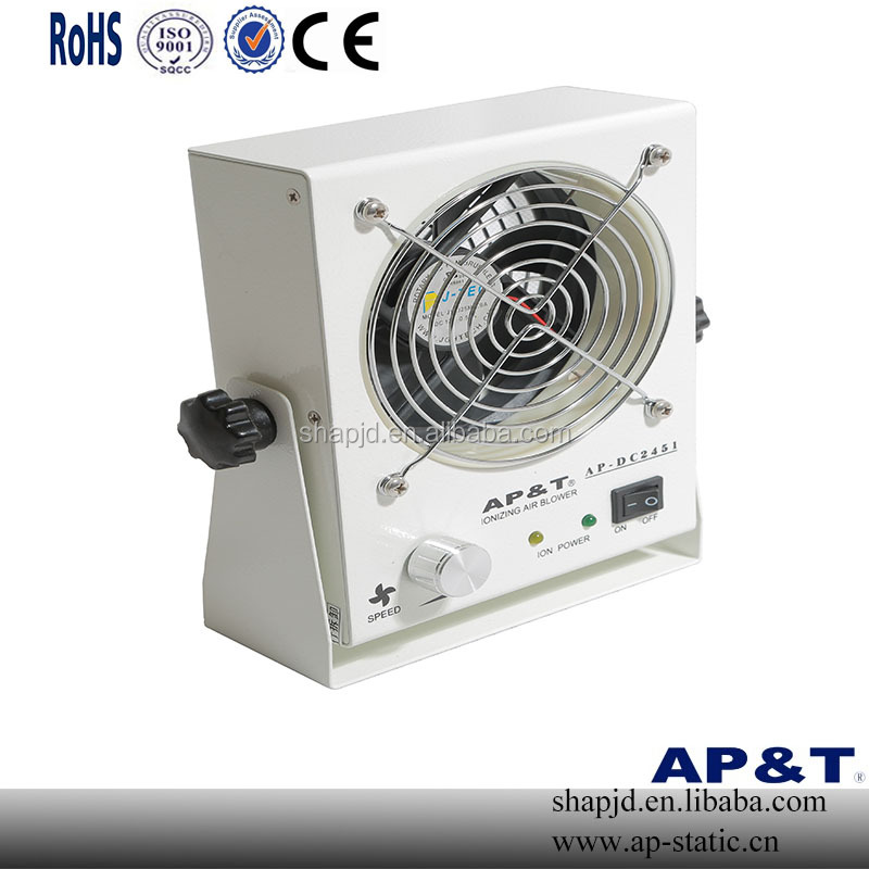 AP-DC2451esd ionizing air blower good price bench top industrial ionizing air blower for eliminating static