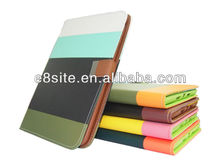 For iPad Mini Colorful PU Wallet Leather Pouch Stand Case