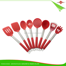ZY-A5006 8pcs Modern Style Silicone Kitchen Gadgets