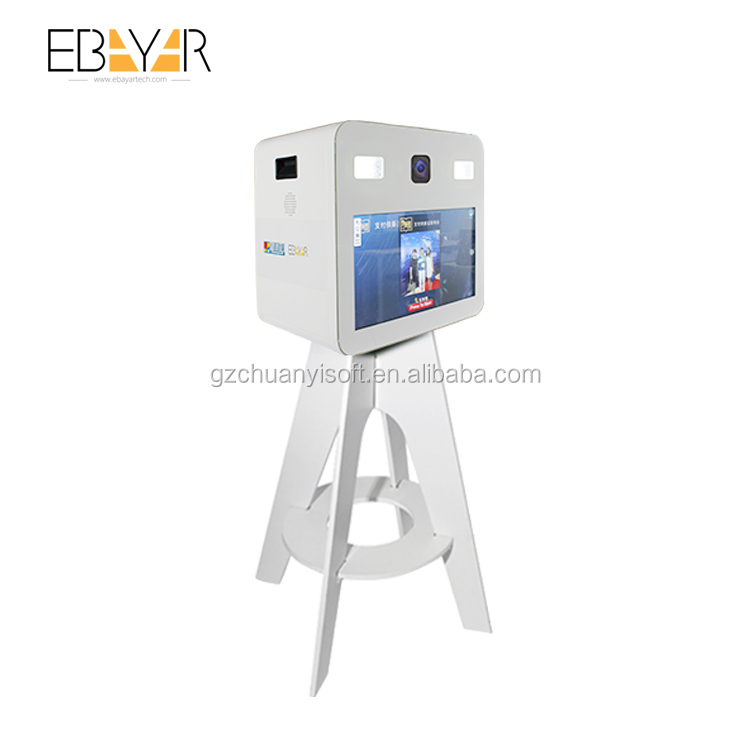 Digital selfie high tech mirror me photo booth sale with best service and low price