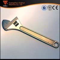 Adjustable wrench spanner/non sparking wrench/tools