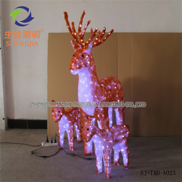 highly polished fiber optic christmas decorations