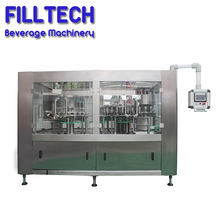 Automatic small bottle liquid beverage filling 3 in1 bottled water equipment for sale