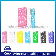 Wholesale mobile phone pectortive cover bird nest hard cover case for iPhone 5 5S