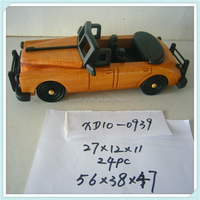 Wooden Models------decorative vintage wooden handmade car model