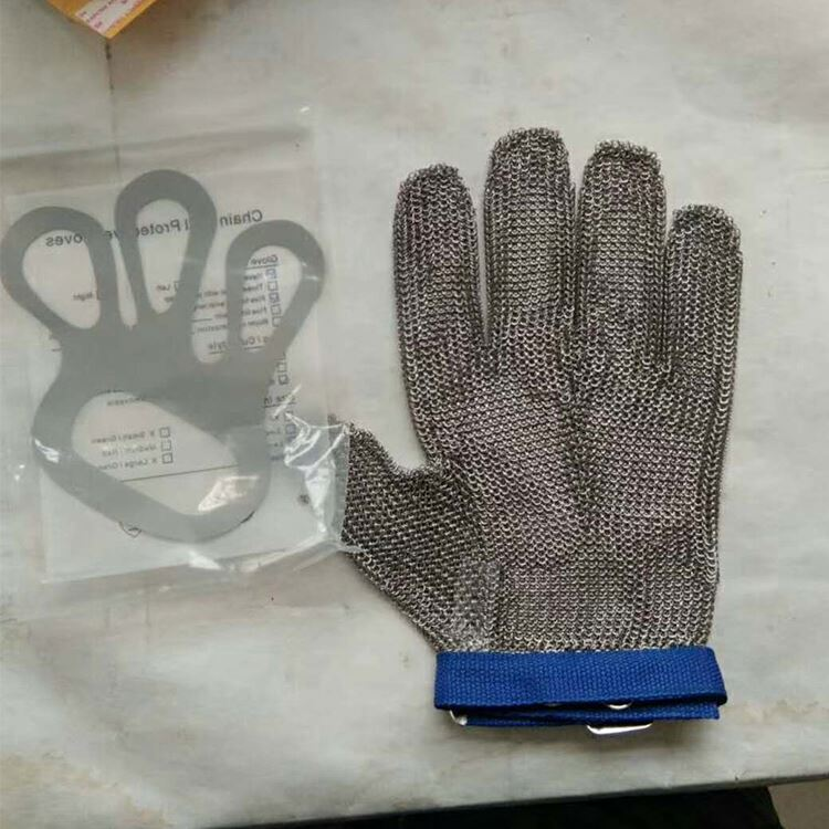 <strong>Safety</strong> Cut Proof Protect Glove 100% Stainless Steel Metal Mesh Butcher Gloves