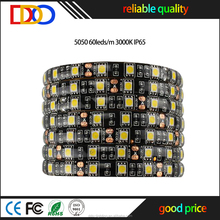 24 volt led strip lighting 5050 30leds/m 60leds/m 120leds/m with factory bottom price