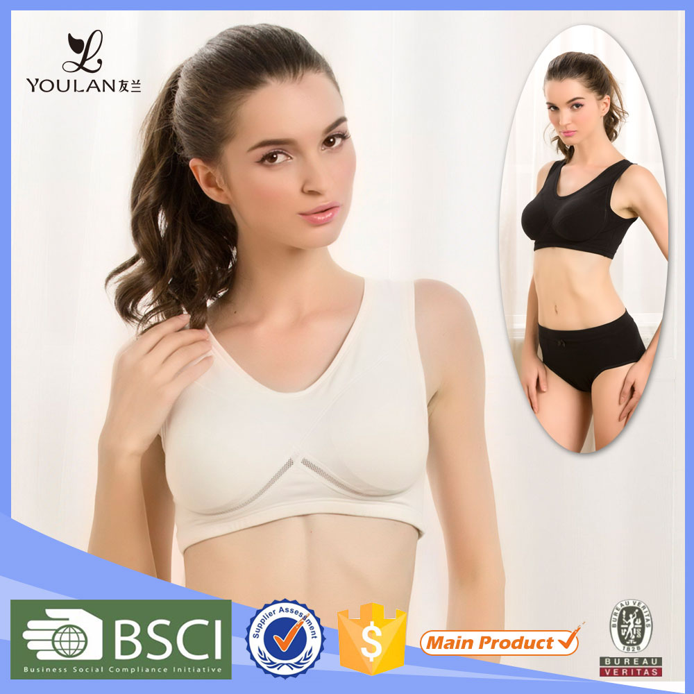 Top Quality Breathable Stylish Yoga Genie Girl Tube Sexy Sports Bra