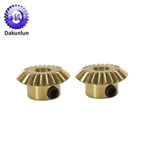 Factory Customized Brass Small Spiral Bevel Gears