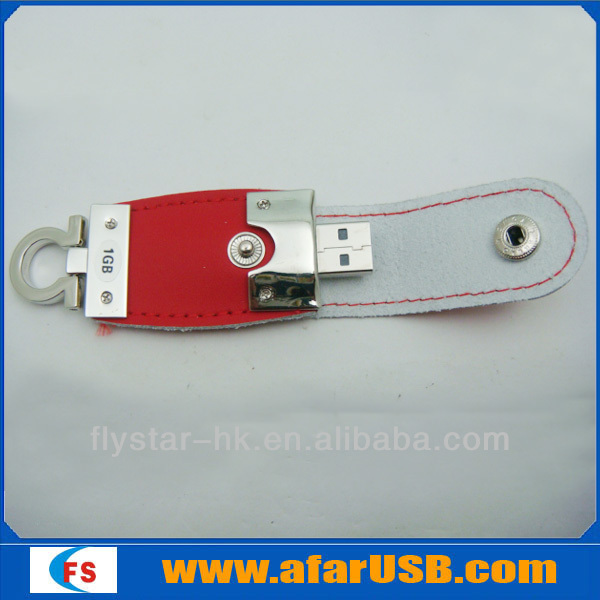 Best-selling Factory Price shenzhen Leather key usb factory