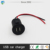 24V DC 1A ABS material Snap join fitting dual usb car charger with cable