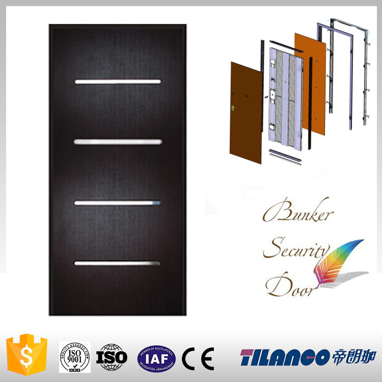 High quality cheap entry wood door