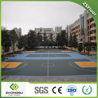 Polypropylene(PP) series portable outdoor basketball court flooring