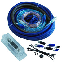 4GA Electrical Audio Amplifier Car Installation Wiring Kit for Car Sudio System